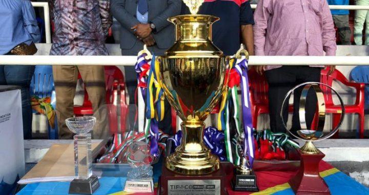 TIFOCO 2020: C. N'sengi soulève son 1er trophée avec les Léopards A'