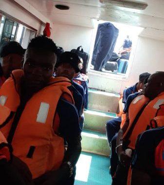 Les Léopards A' s'acclimatent à Brazzaville