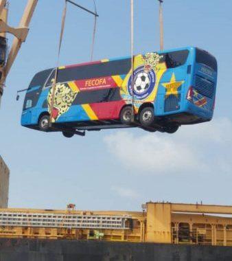 Léopards: Félix Tshisekedi offre un nouveau bus