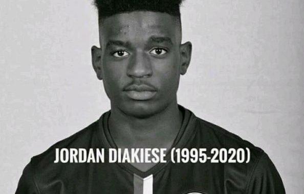 Le capitaine Jordan Diakiese est décédé
