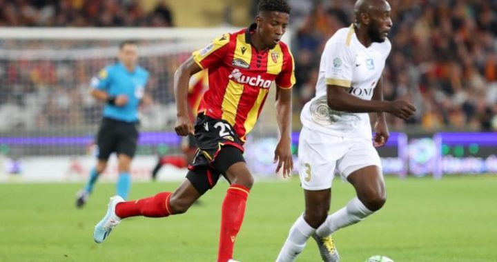 RC Lens : Simon Banza, ce franco-congolais qui prolonge jusqu'en 2023