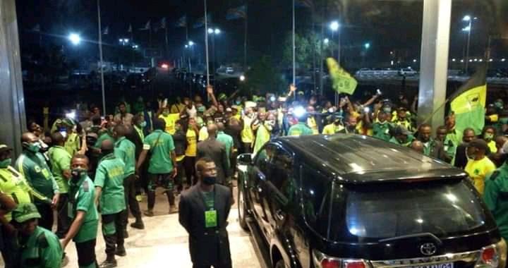 As V.club : La présidente Bestine Kazadi  à Kinshasa depuis ce mercredi