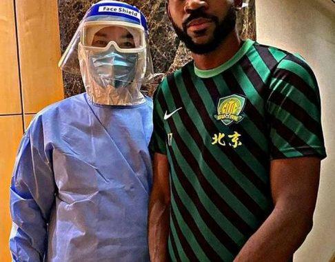 Chine : Fin de la quarantaine pour Cedric Bakambu