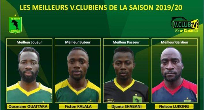 As V.Club: Les meilleurs joueurs de la saison 2019-2020