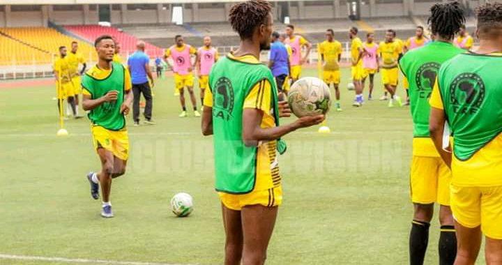As V.club: Etekiama et Tulenge retrouve le chemin des entraînements