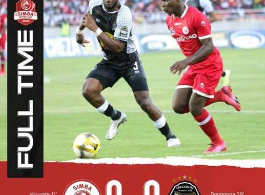 Simba cup: Mazembe et Simba se neutralisent