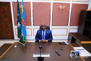 F. Tshisekedi et G. Infantino pour l'augmentation du quota de participation de l'Afrique au mondial