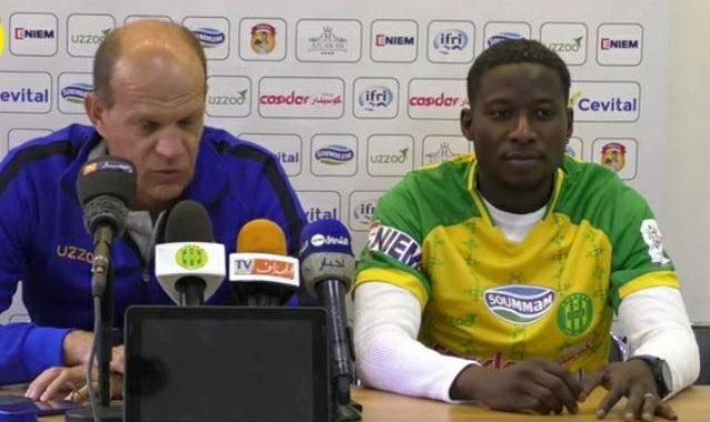 """Glody Kilangalanga après son transfert à la JS Kabylie : """"C'est le travail qui parlera à ma place"""""""