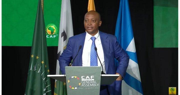 Patrice Motsepe élu président de la CAF