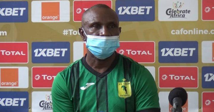 """CAF-C1  V.club vs Al Merreikh : """" Si on rate, on rate mais la volonté de l'emporter doit y être"""" (Florent Ibenge)"""