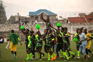 Foot-RDC : coup de théâtre, Étoile du Kivu célèbre sa montée en Ligue 1 au détriment de Kabasha