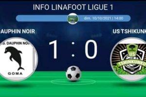 Ligue 1 : Dauphin noir s'impose devant le promu Tshikunku